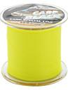 l'abrasion lignée résistante de pêche monofilament (300m de long, 12,3 kg, jaune)