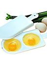 микроволновые печи яичные омлеты котел коробка двойной 2 яйца boilling инструменты