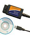 자동차 진단 ELM 327 OBD2 USB 스캐너