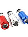 прикуривателя автомобиля аккумуляторная водонепроницаемый фонарик 30 люмен (разных цветов)