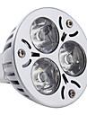 GU5.3(MR16) Точечное LED освещение MR16 3 Высокомощный LED 270 lm Естественный белый DC 12 V