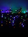 10m 100-geleide kleurrijk licht 8-modus geleid fee koord lamp voor kerst (220v)
