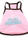 Downhill Dress for Dogs (XS-XXL, Pink)