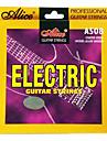 Alice - (A508-sl) revestidos de aço cordas da guitarra elétrica (009-042)