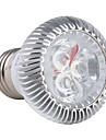 Lâmpada de Foco E26/E27 3 W 270 LM K Branco Natural 3 LED de Alta Potência AC 85-265 V PAR