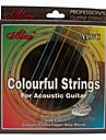 Alice - (a407c) de aço cordas da guitarra acústica (011-052)