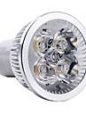 4W GU10 Точечное LED освещение MR16 4 Высокомощный LED 360 lm Тёплый белый AC 85-265 V
