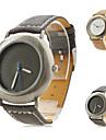 unisexe montre-bracelet analogique pu quartz (couleurs assorties)