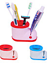 Toothbrush Holder with Toothpaste Squeezer(Random Colors)