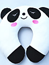 Panda Pattern Plush U-Shaped Pillow