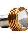 1156 1w 50lm 12v привело белый свет лампы автомобиля золотой крышкой