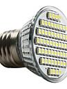 Светодиодная точечная лампа E27 60-3528 SMD 3-3,5 В 6000-6500 К естественный белый свет (230 В)