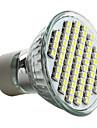 4W GU10 Spot LED MR16 60 SMD 3528 180 lm Blanc Naturel AC 100-240 V