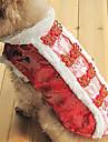 традиционный китайский стиль одежды для собак (XS - XL, красный)
