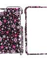 style petit fleurs corps de boîtier de protection complet pour iPod touch 4 (rose)