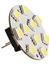 g4 5050 SMD LED 0.6W 21-126lm ampoule rgb pour la voiture (12V DC)