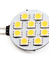Светодиодные лампы, теплый белый свет, G4 1.5W 10x5050SMD 90LM 2700K (12)