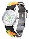 Cartoon Lion Silicone Analog Quartz Wrist Watch (Black) Cool Watches Unique Watches