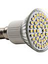 3W E14 Spot LED MR16 48 SMD 3528 150 lm Blanc Chaud AC 100-240 V