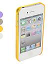 Сверхтонкий защитный бампер для iPhone 4 и 4S (разные цвета)