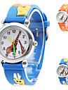 Cartoon Giraffe Silicone Analog Quartz Wrist Watch (Assorted Colors)