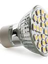 4W GU10 Точечное LED освещение MR16 24 SMD 5050 150 lm Тёплый белый AC 220-240 V
