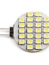 2W G4 LED Spotlight 24 SMD 3528 110 lm Natural White DC 12 V