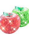 Quebra-cabeças Quebra-Cabeças 3D / Quebra-Cabeças de Cristal Blocos de construção DIY Brinquedos Apple ABS Vermelho / VerdeModelo e