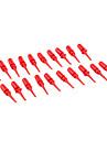 красный jl1451 небольшой крюк на инструмент для электроники DIY (20 штук упаковке)