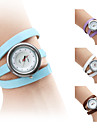Women's Fashionable PU Leather Style Analog Quartz Bracelet Watch with Long Band (Assorted Colors) Cool Watches Unique Watches