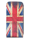 Vintage UK Flag Pattern Full Body Case for iPhone 4 and 4S (Multi-Color)