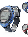 남성 스포츠 시계 패션 시계 손목 시계 방수 태양 에너지 태양 에너지 고무 밴드 캐쥬얼 멋진 블랙 블루 그레이 노란색