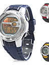 Men's Multi-Functional Digital Rubber Band Wrist Watch (Assorted Colors) Cool Watch Unique Watch