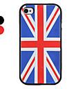 uk flag motif de silicone de style Etui pour iPhone 4 et 4s (couleurs assorties)