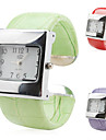아가씨들 패션 시계 손목 시계 팔찌 시계 석영 밴드 만화 레드 브라운 그린 퍼플