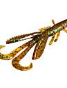 5 штук Мягкие приманки Ассорти из цветов г Унция mm дюймовый,Резина Морское рыболовство / Пресноводная рыбалка / Ловля мелкой рыбы