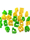 Формочка в виде букв латинского алфавита, для приготовления печений и тортов (26 шт.)
