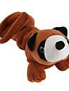 개를위한 너구리 모양의 스타일 소프트 애완 동물 삐꺽이는 소리 장난감 (21 X 9cm)