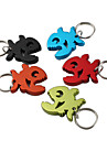 Piranha Shaped Bottle Opener Keychain (Random Color)