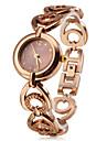 Women's Fashionable Style Alloy Analog Quartz Bracelet Watch (Bronze) Cool Watches Unique Watches