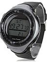 Men's Sport Watch Wrist watch LED Calendar Chronograph Alarm Solar Stopwatch Digital Rubber Band Cool Black