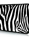"полоски зебры неопрена ноутбук рукав чехол для 10 ""11"" 13 ""15"" IPad MacBook DELL HP Acer Самсунга"