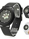 женщины собаки лапы стиль Пу аналоговые кварцевые наручные часы (разных цветов)