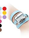여성의 긴 PU 가죽 스타일의 밴드 아날로그 석영 팔찌 시계 (여러 색)