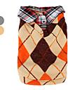 вязаный шерстяной жилет с воротником рубашки для собак (XS-XL, разных цветов)