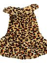 moelleux style vestimentaire douce et chaude pour les chiens (XS-XL, marron)