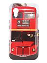 caso de ônibus padrão rígido para Samsung Galaxy ace s5830 (vermelho)