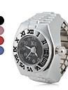 아가씨들 패션 시계 반지 시계 일본 쿼츠 석영 밴드 빈티지 실버