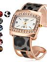 Women's Fashionable Style Alloy Analog Quartz Bracelet Watch (Assorted Colors)