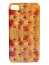 Etui Rigide Style Biscuit pour iPhone 4/4S